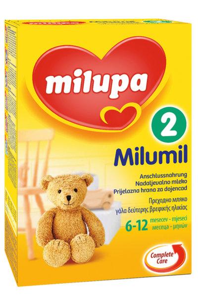 Milupa Бебешко адаптирано мляко MILUMIL  2  600гр. 6-12м
